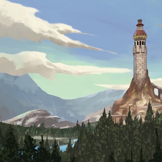 The tower on Krell.