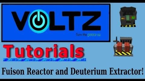 Updated Fusion Reactor and Deuterium Extractors (Atomic Science) Voltz Tutorial