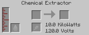 Chemical Extractor GUI