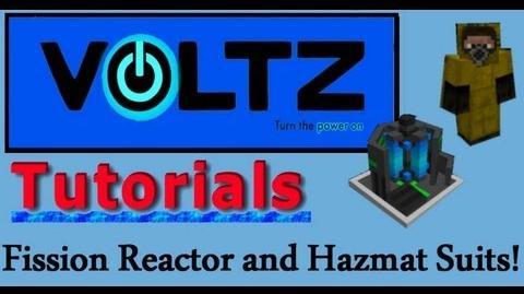 Updated Fission Reactor and Hazmat Suit (Atomic Science) Voltz Tutorial