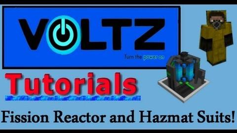 Updated Fission Reactor and Hazmat Suit (Atomic Science) Voltz Tutorial