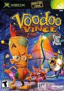 Vince on the main box art for the game