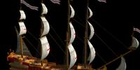 Royal Multi Mast Armor Ship