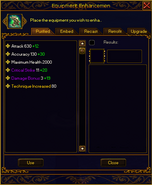 Refining interface item closed plain