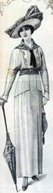 Costume toile
