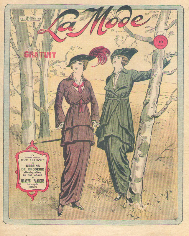 LA MODE 02 22 1914