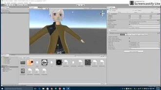 How to use MMD models in Unity and VRChat-0