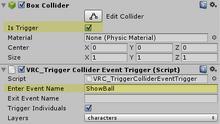 Event01 trigger