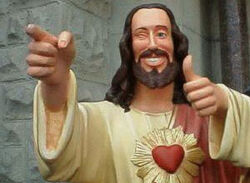Youre welcome from jesus