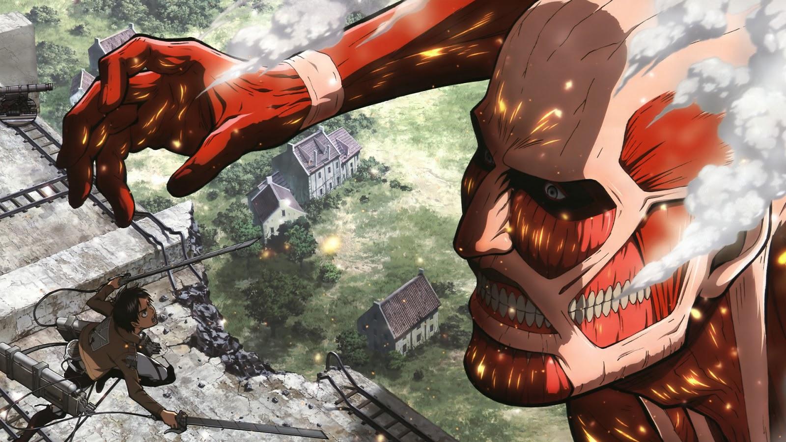 Known Titans colossal titan