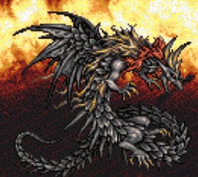 FF6 adv Kaiser dragon