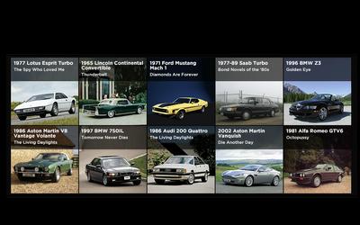 Bond Cars