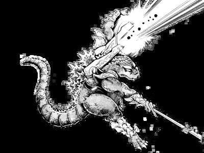 Godzilla senshi