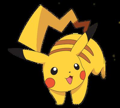Pikachu render by TRCH