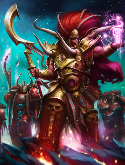 Magnus the Red Primarchs coverart