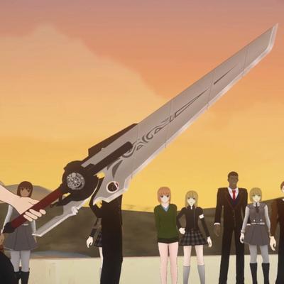 Qrow Weapon Sword