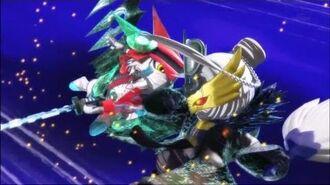 Digimon Universe Episode 12 Haru & Rei Applink vs Sakusimon