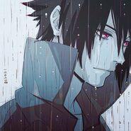 Uchiha sasuke in the rain by ayano kelly12-d65xuxi