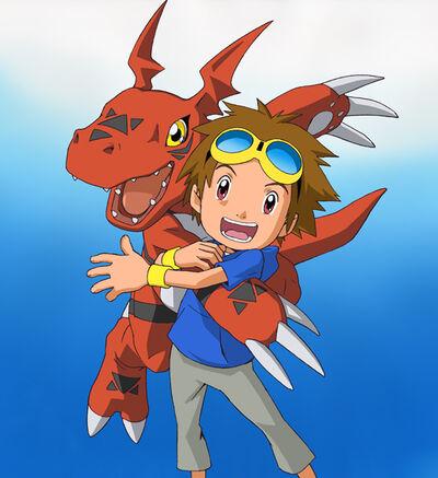 Takato and Guilmon