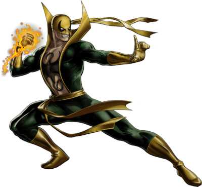 Iron Fist Portrait