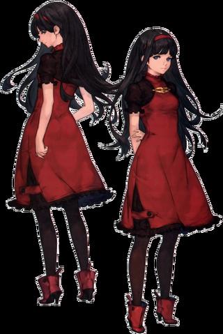 File:Red Girl artwork nier automata.png
