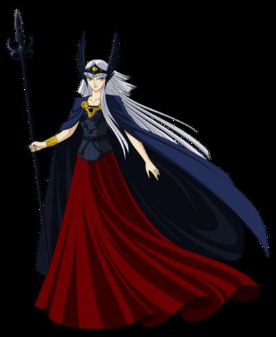 Hilda de polaris saint seiya render by obedragon-d68dtob