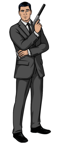Sterling Archer Standing POSE