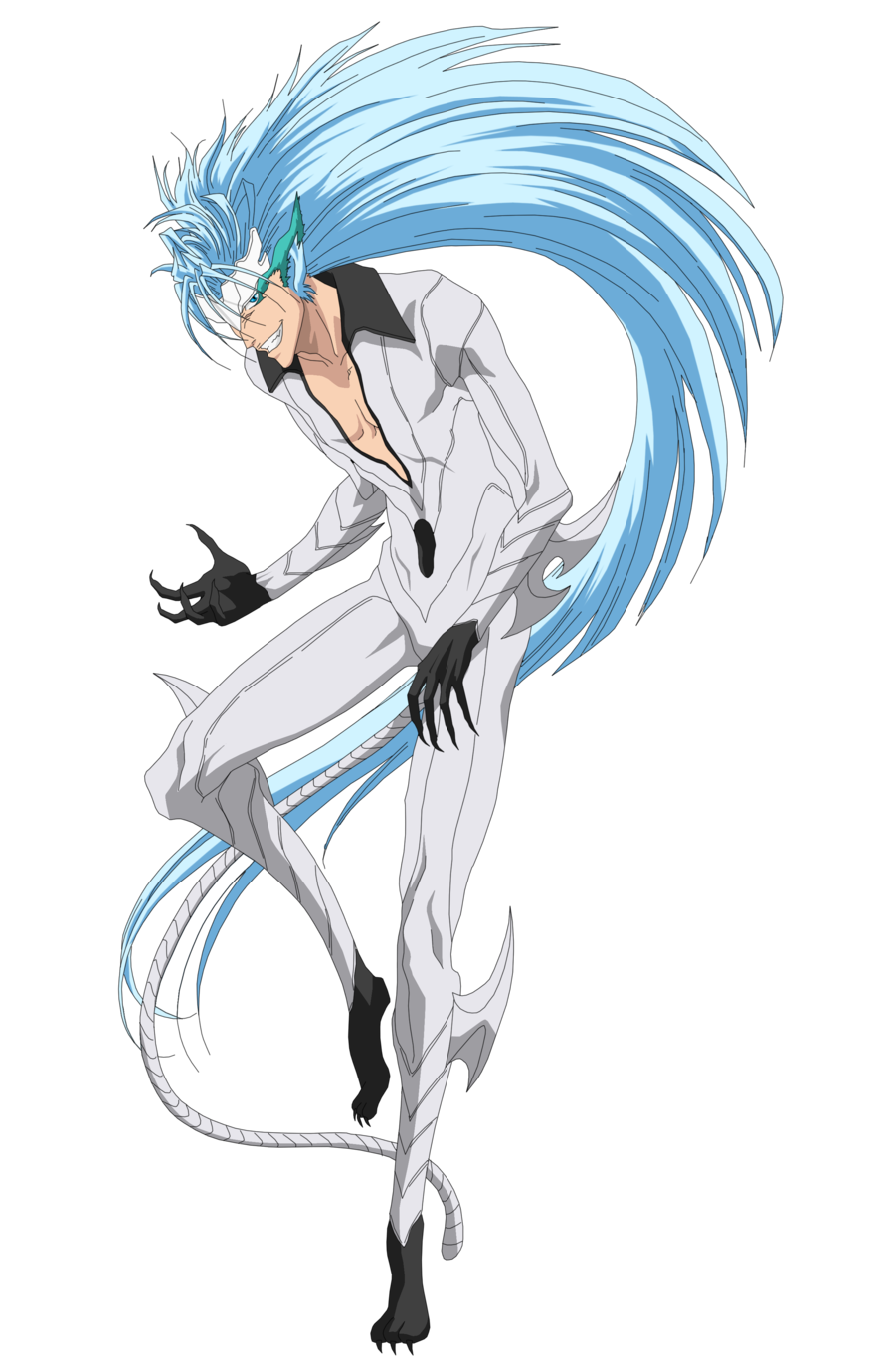 Image result for grimmjow jeagerjaques release