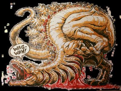 Godzilla 2nd form