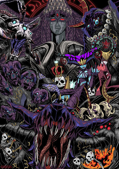 Bayonetta-demons