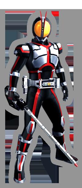 Kamen Rider Faiz Render
