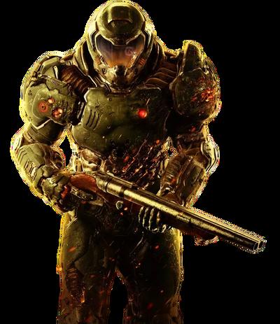 Doomguy render