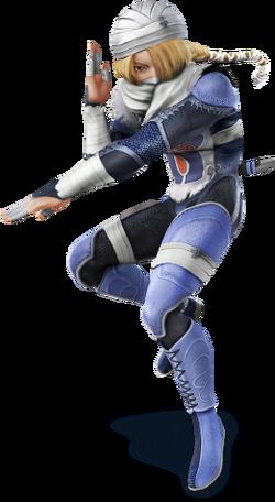Sheik (SSB 3DS & Wii U)