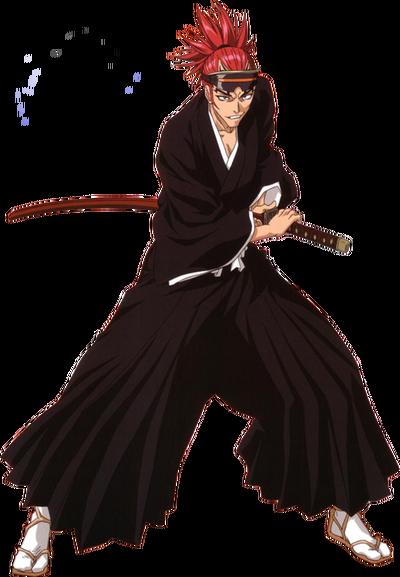 Renji Abarai render by animesennin