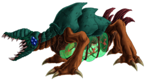 Metroid 25th queen metroid by green mamba-d45kjn0