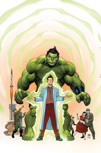 Totally Awesome Hulk Vol 1 1 Cho Variant Textless