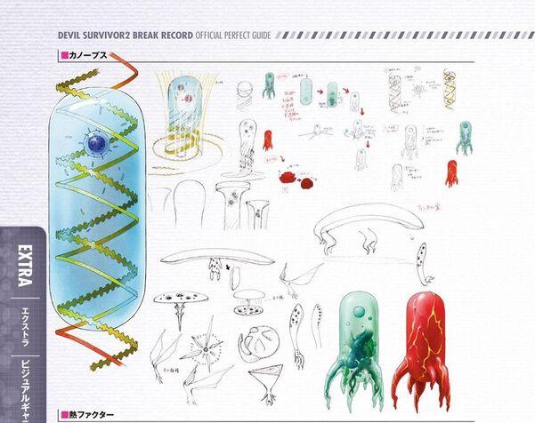 Canopus, Shards, and Heat Factor Concept Art DeSu2RB