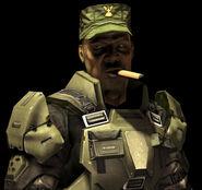 Halo 3 smoking.