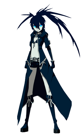 Black rock shooter render 1 by draox-d5gubxn