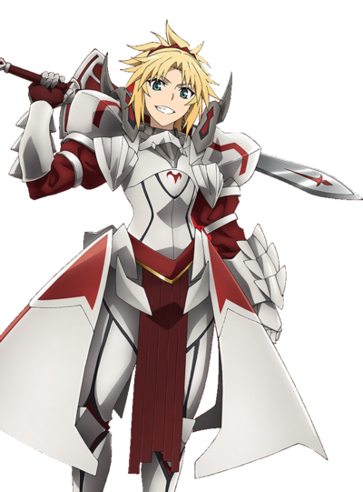 Saber of Red Anime