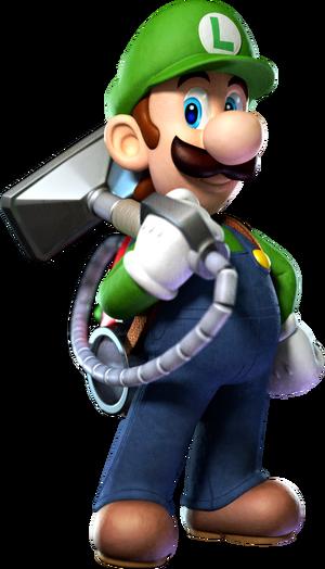 Poltergust 5000 Luigi
