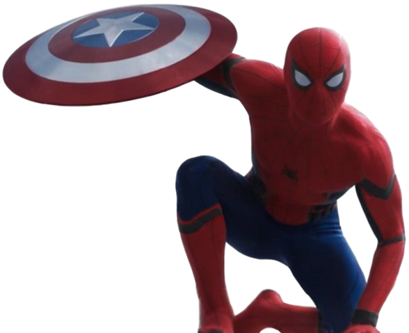 File:Civil war spider man transparent background by camo flauge-d9ur7he.png
