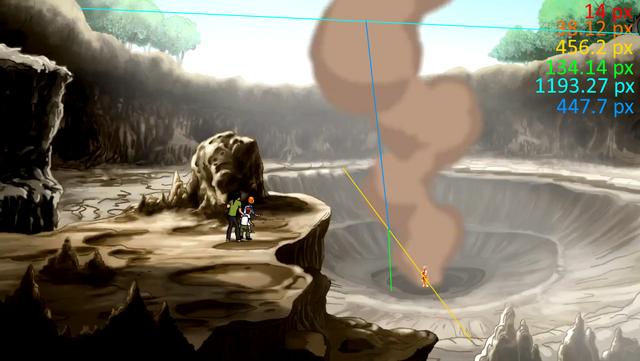 File:Episode 3 - Heatblast destroys a cave1.png