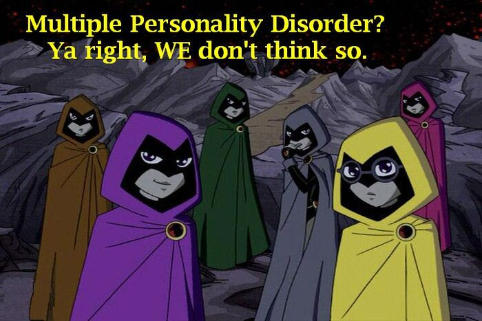 Multiple personality disorder by spotty bee