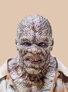 Croc Face Close Up