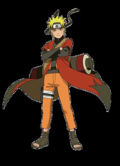 Naruto sage mode render by xuzumaki-d498uus