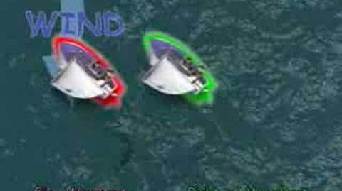 ISAF Rule 10 Starboard ROW upwind -Part 13