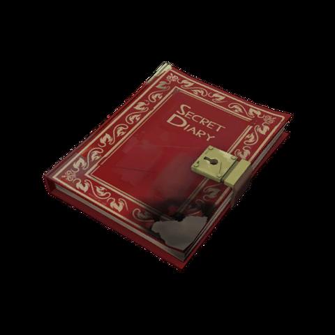 File:Tf2item fireproof secret diary.png