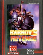 Karnovs Revenge NeoGeo Cover