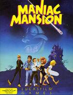 Maniac Mansion C64 cover